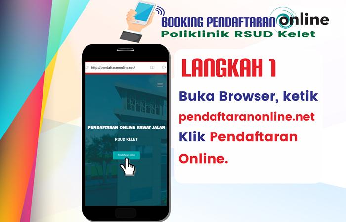 Langkah 1 Pendaftaran Online