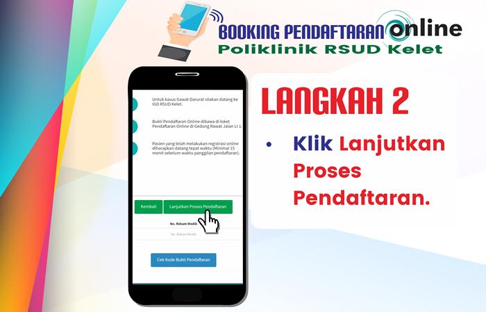 Langkah 2 Pendaftaran Online