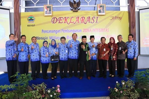 Foto Bersama Deklarasi WBK