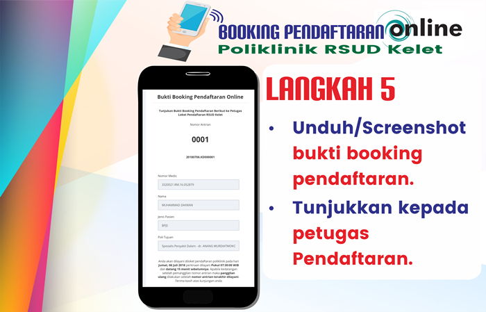 Langkah 5 Pendaftaran Online