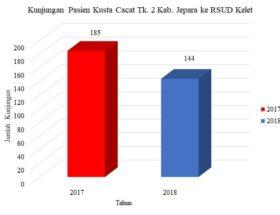 Kunjungan Cacat Tk. 2 Kab Jepara Ke RSUD Kelet 2017-2018